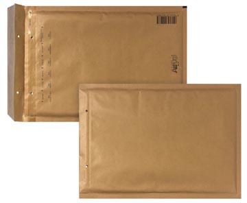 Bong luchtkussenenveloppen ft 180 x 265 mm met stripsluiting, bruin, doos van 100 stuks