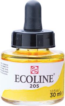 Talens Ecoline waterverf flacon van 30 ml, citroengeel