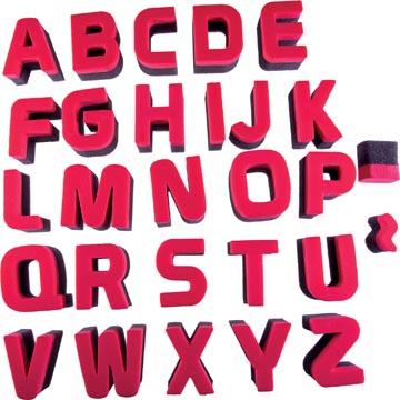 Bouhon lettersponsjes
