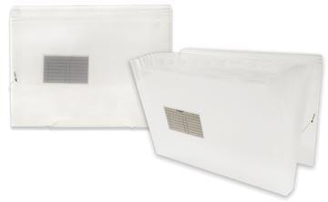 Beautone voorordner, A4, 13 vakken, transparant