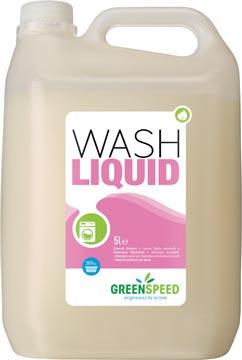 Greenspeed vloeibaar wasmiddel Wash Liquid, 71 wasbeurten, flacon van 5 liter