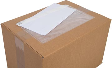 Cleverpack documenthouder, onbedrukt, ft 230 x 112 mm, pak van 100 stuks