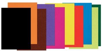 Gekleurd tekenpapier ft 21 x 29,7 cm (A4)