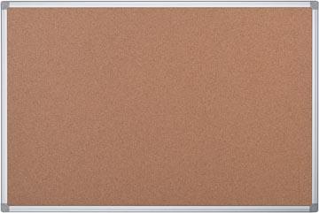 Pergamy kurkbord met aluminium frame ft 60 x 45 cm