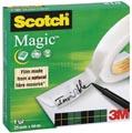 Scotch plakband Magic Tape ft 25 mm x 66 m
