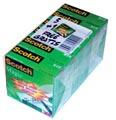 Scotch plakband Magic Tape ft 19 mm x 33 m, pak van 6 rollen
