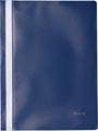 Pergamy snelhechtmap, ft A4, PP, pak van 25 stuks, donkerblauw